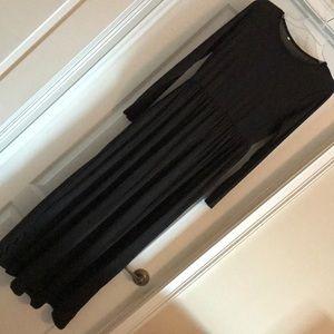 Black Maxi Dress size XL